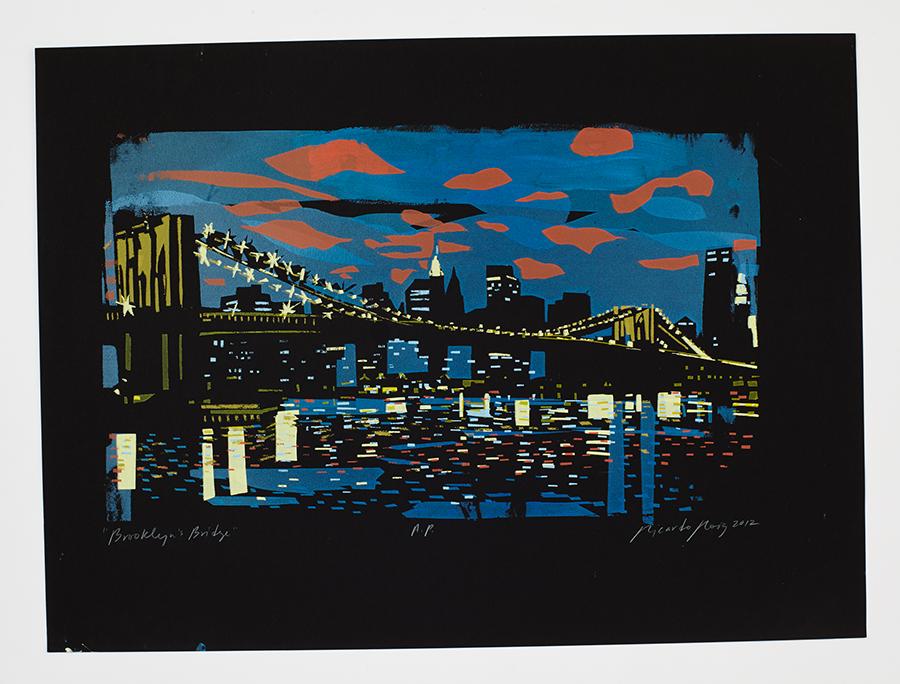"Last ""Brooklyn's Bridge"" available. Info@RoigCollection.com"