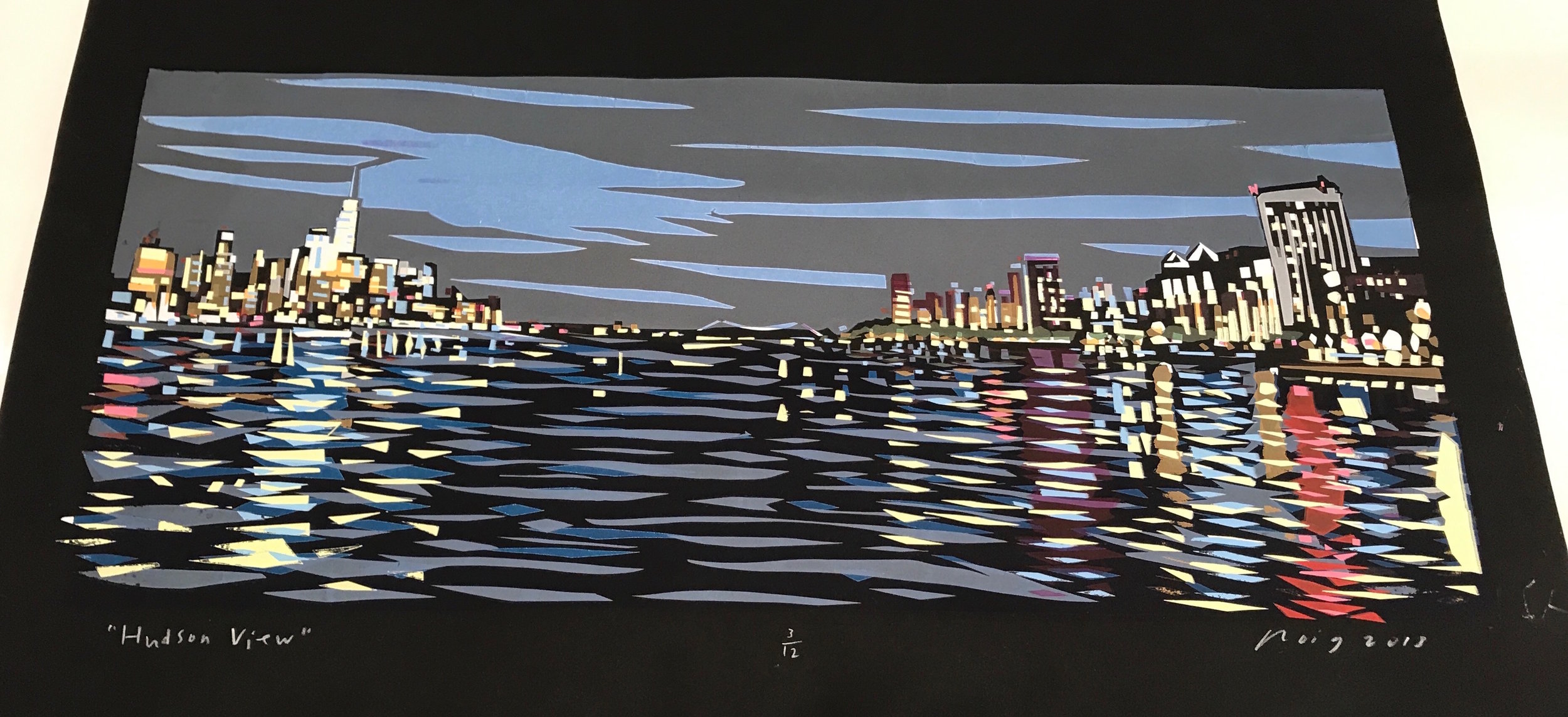 """New to the collection, """"Hudson View"""". Info@RoigCollection.com"""