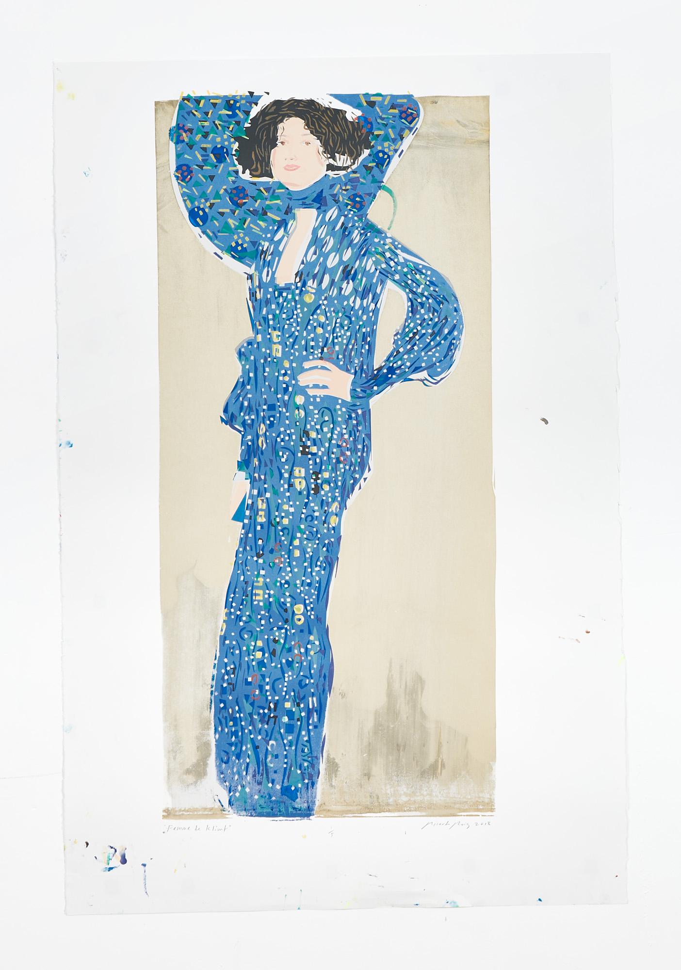 """""""Femme de Klimt II"""" 2018"""