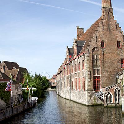 Bruges, Belgium. St. Jan hospital