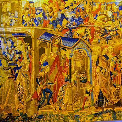 La jeunesse d'Hercule Tapestry