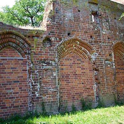 Arches at Eldena Kloster