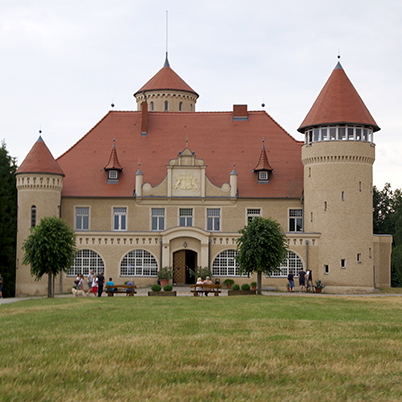 Stolpe castle, Usedom, Mecklenburg, Germany