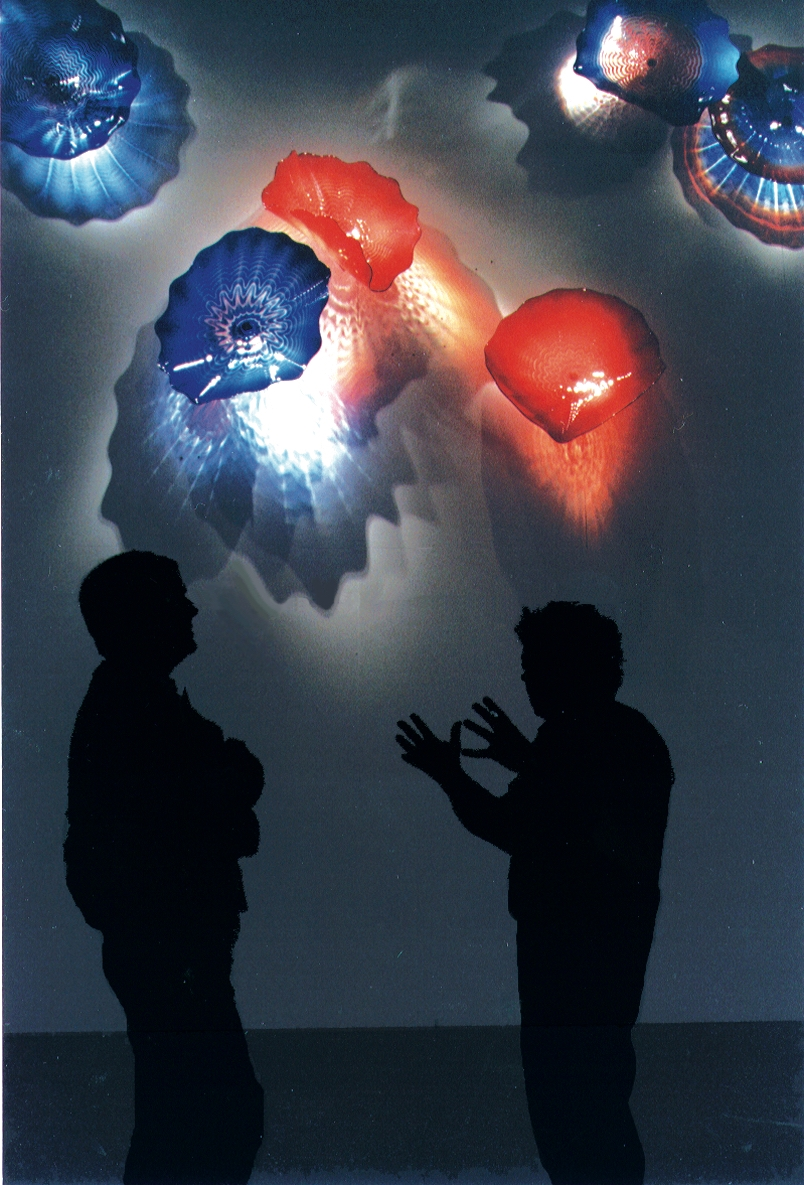 Dale Chihuly and Michael Apted