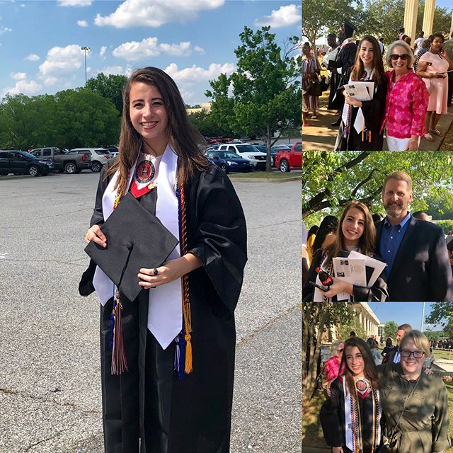 Yesterday was so special as we proudly watched Kat graduate from Howard High!  Watch out Fordham - here she comes!! 🎉👏🏻