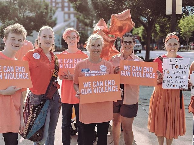 Last year we marched, we wore orange, and we elected more leaders who understand the urgent need to pass common sense gun legislation in this country.  While we have seen some progress, we still have a long road ahead.  This weekend is #WearOrange to end gun violence.  Find an event near you https://wearorange.org.  #enough #gapol