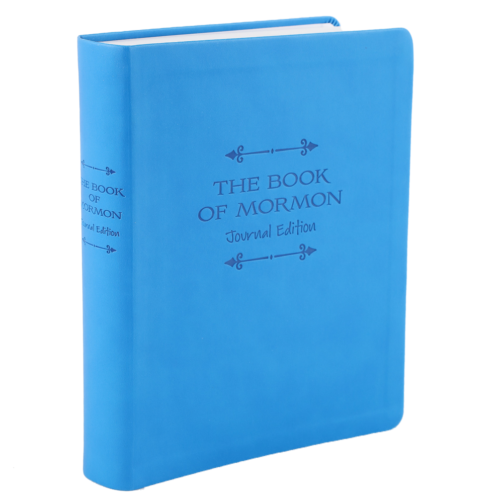 The Book of Mormon, Journal Edition, Faux Leather (No Index)