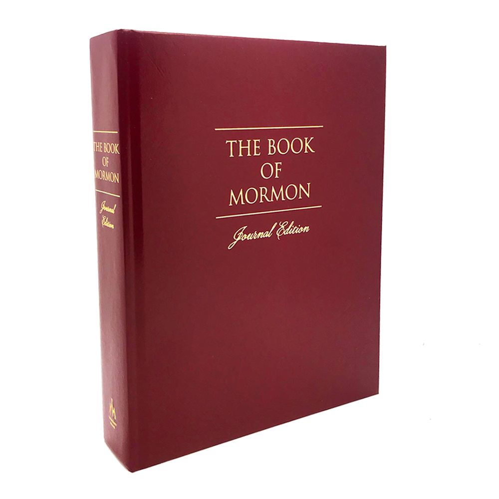 The Book of Mormon, Journal Edition, Red