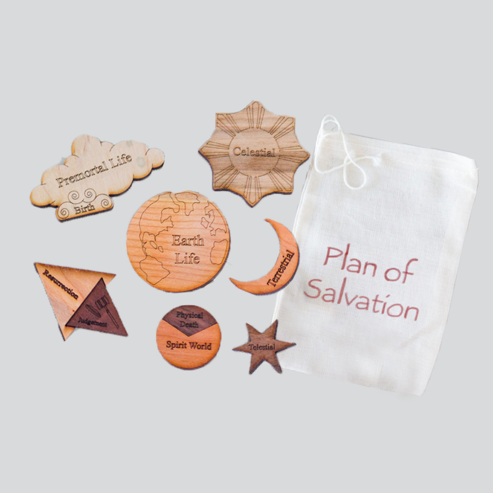 Plan of Salvation Wood Puzzle