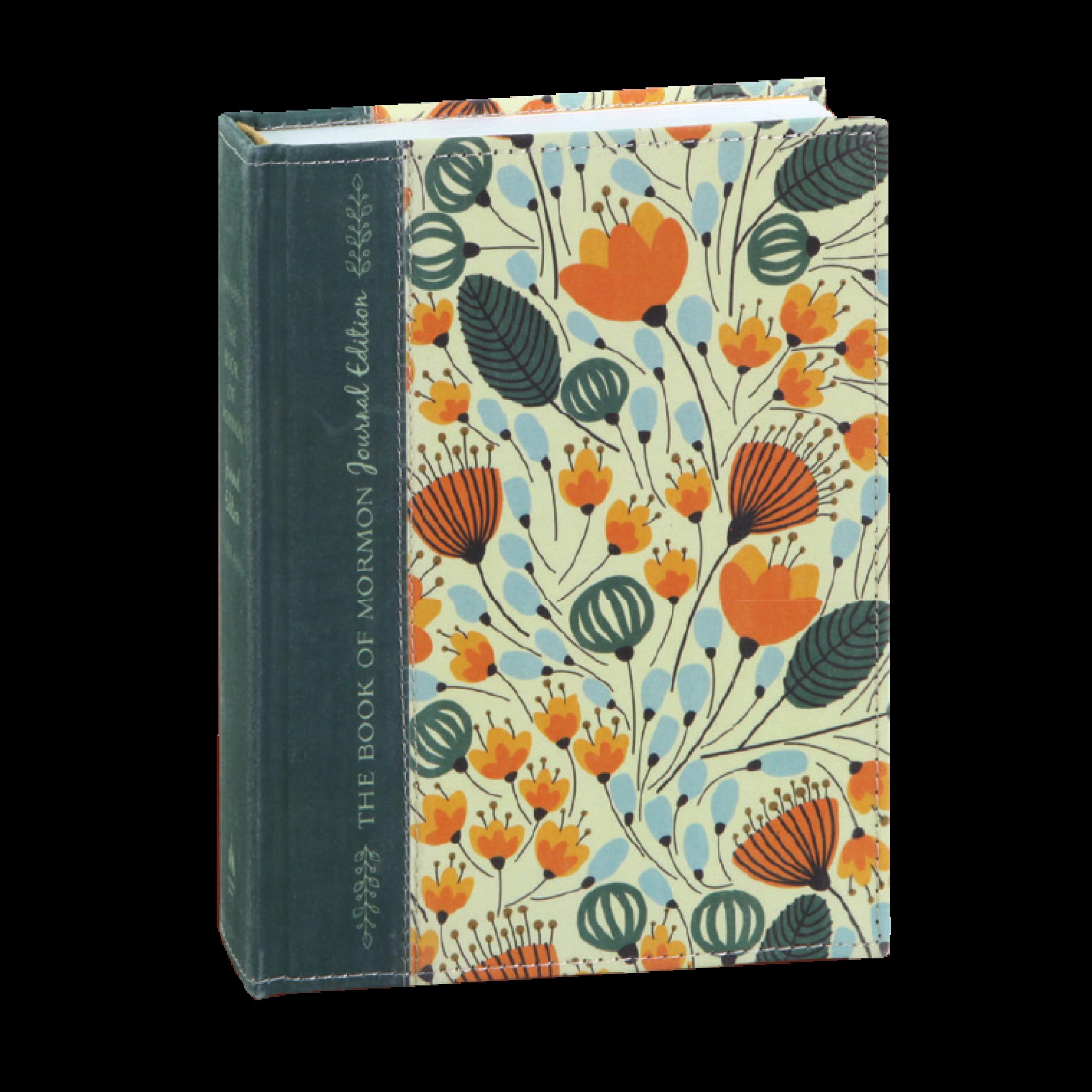 Book of Mormon Journal - Orange Floral