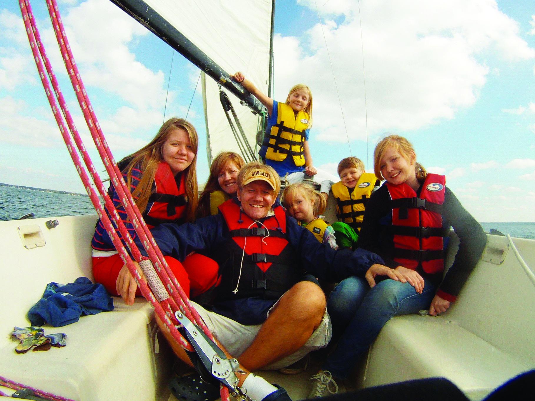 Erik and Emily Orton and their family.