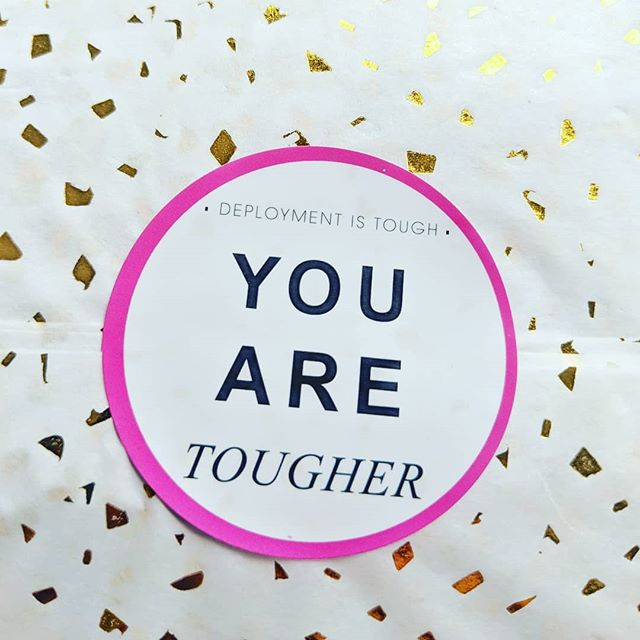 Deployment is tough... YOU ARE TOUGHER . . . For anyone who needed it- consider this your reminder for today . . You're going to rock this countdown We're going to cheer you on while you do it ⠀⠀⠀⠀⠀⠀⠀⠀⠀ ⠀⠀⠀⠀⠀⠀⠀⠀⠀ ⠀⠀⠀⠀⠀⠀⠀⠀⠀ ⠀⠀⠀⠀⠀⠀⠀⠀⠀ #deployment #deploymentgoals #toughenough #tough #toughwomen #militaryspouse #milspouse #milspo #shopmilitary #milso #deploymentcountdown #carepackageideas #carepackage #homecoming #dreamingofhomecoming #missinghim