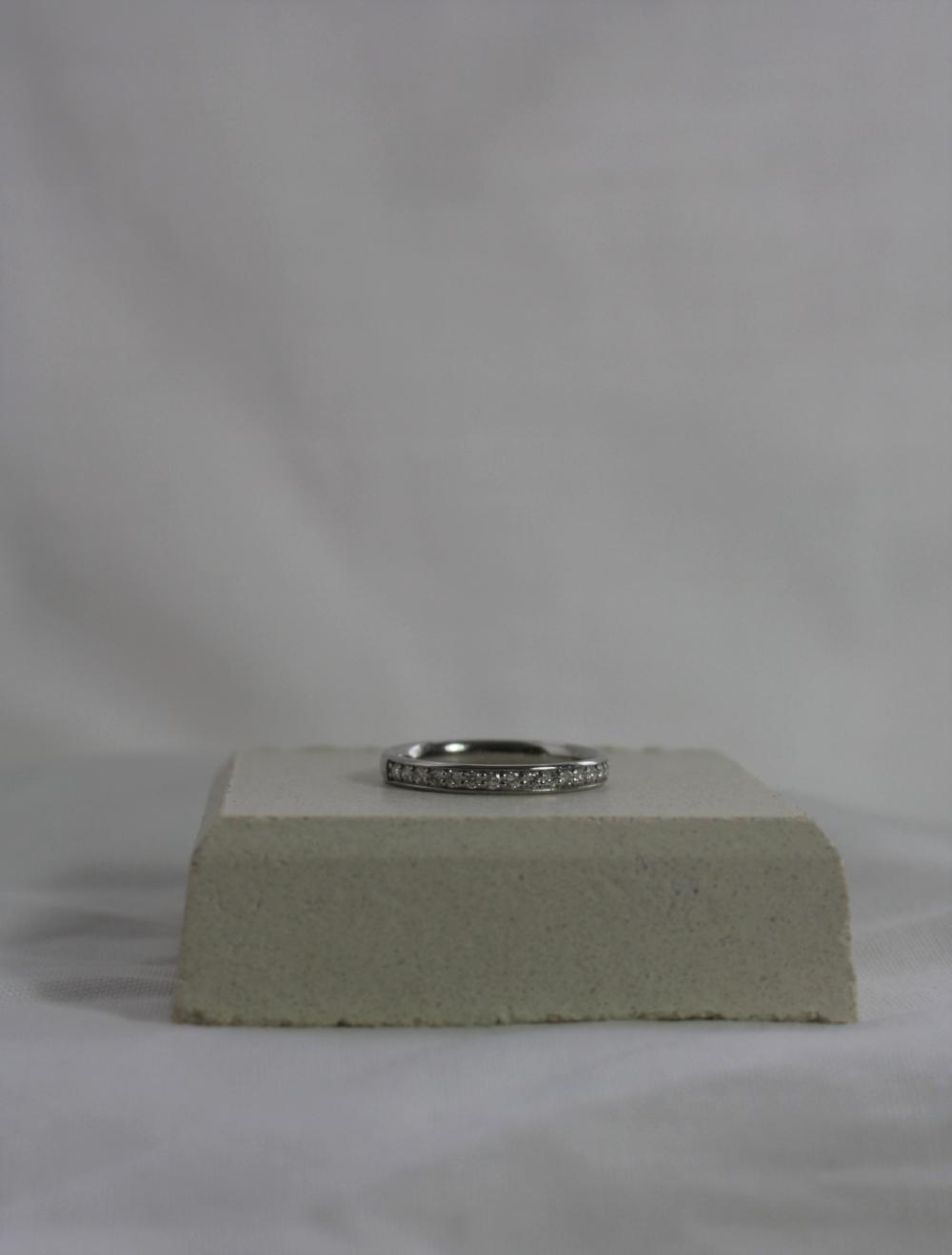 Platinum half eternity wedding ring.JPG