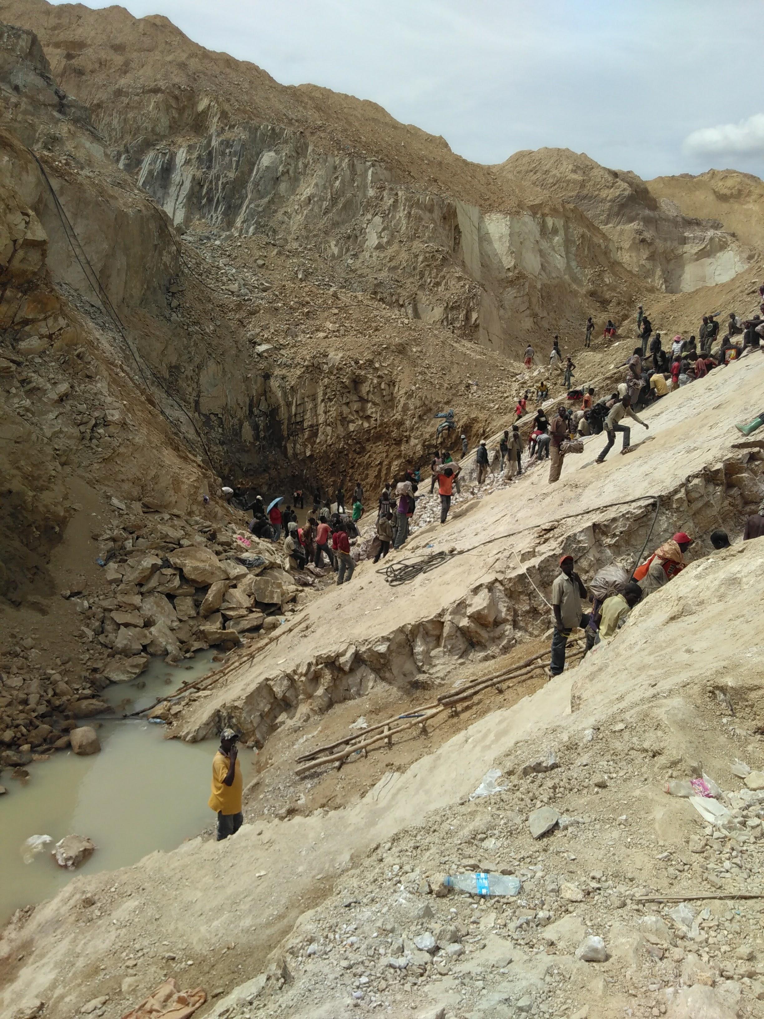 Gold mine in Tanzania
