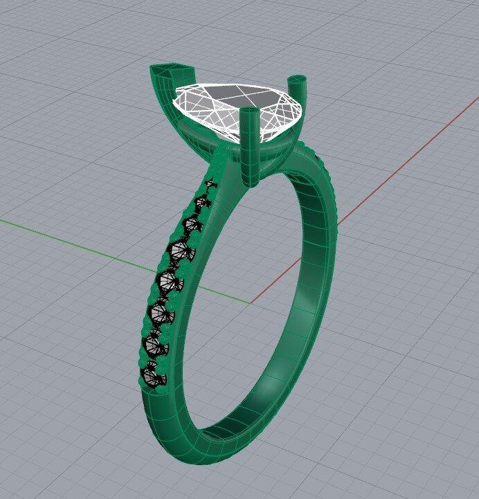Pear cut diamond engagement ring design.jpg