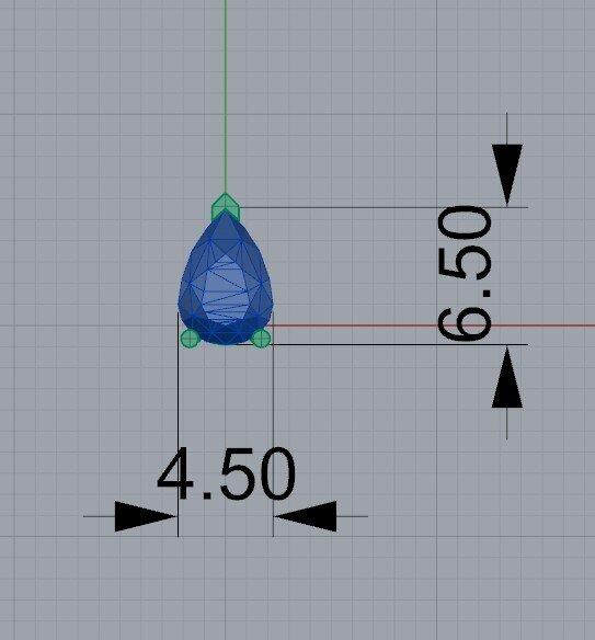 0.60 ct diaomond dimensions