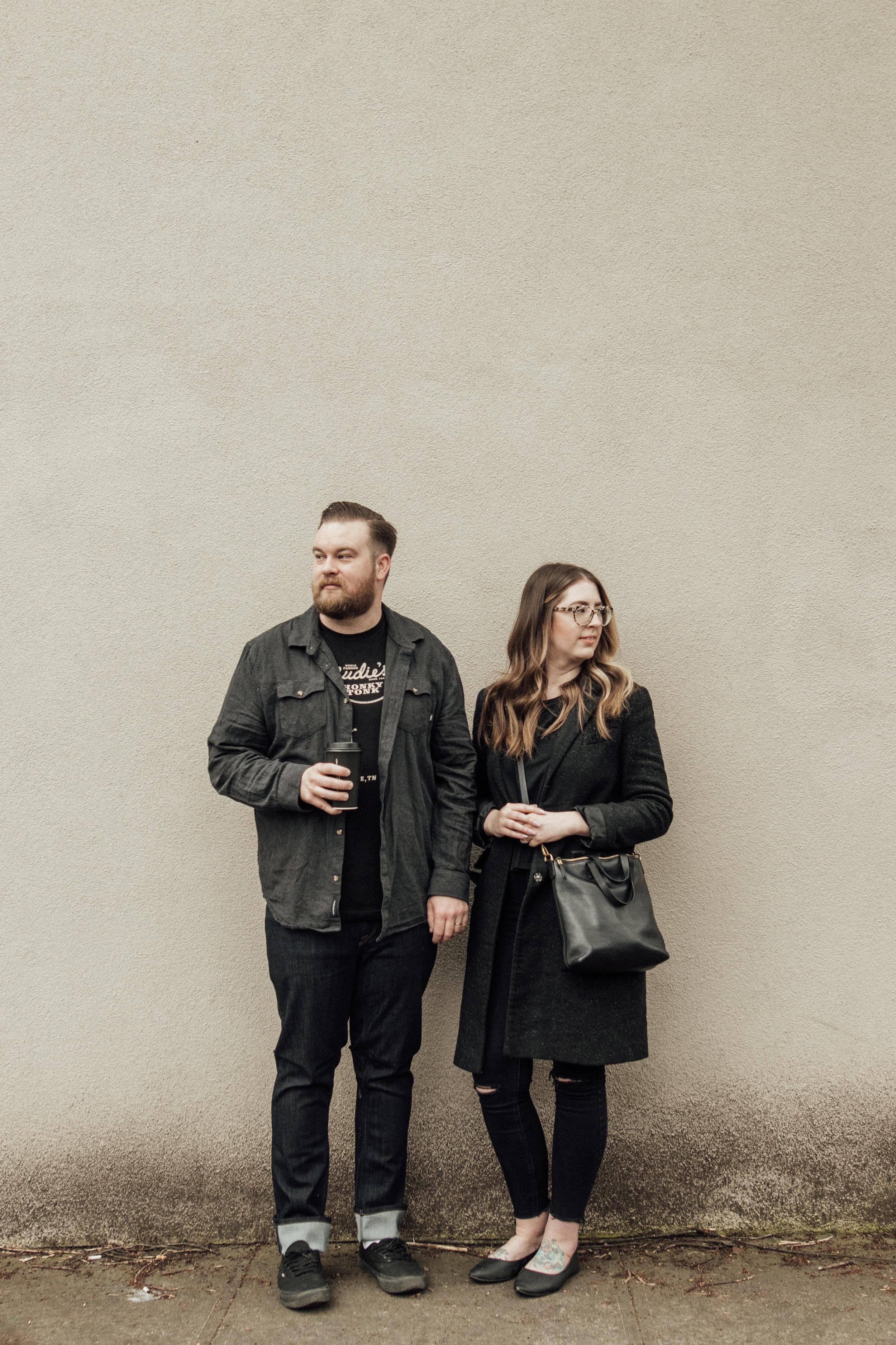 Holly and Brett Couples Portraits - Dakota Lynne Photography - Portland, Oregon