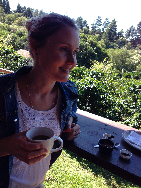 Karin in Costa Rica with coffee.jpeg