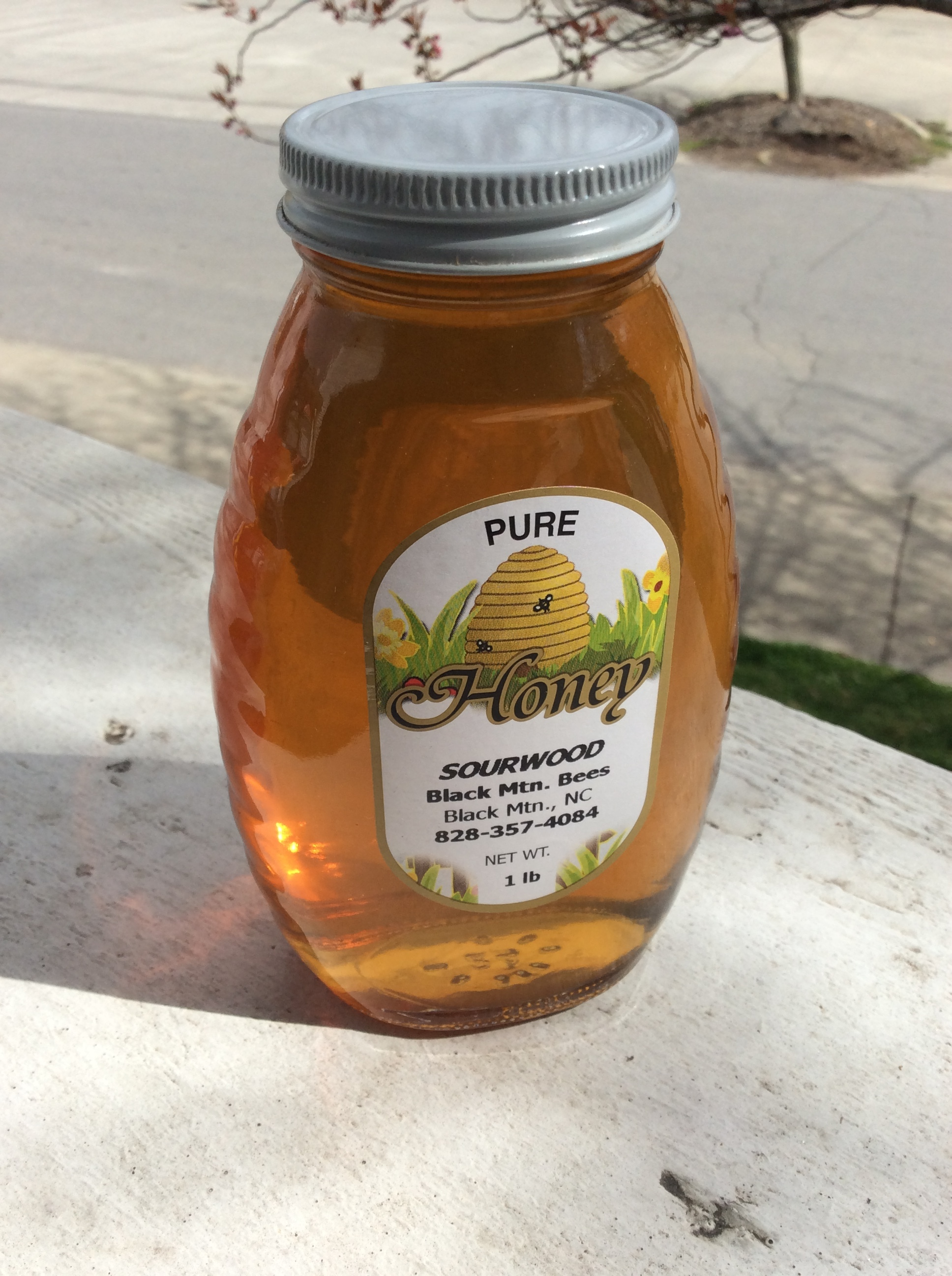 Sourwood Honey - From right here in Black Mountain! A sweet deal at $16