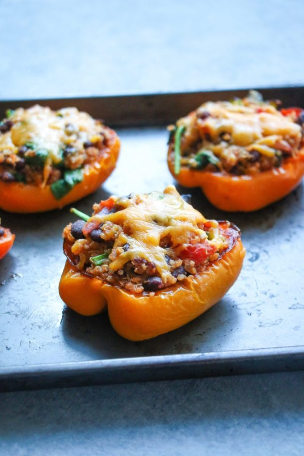 Quinua Stuffed Peppers