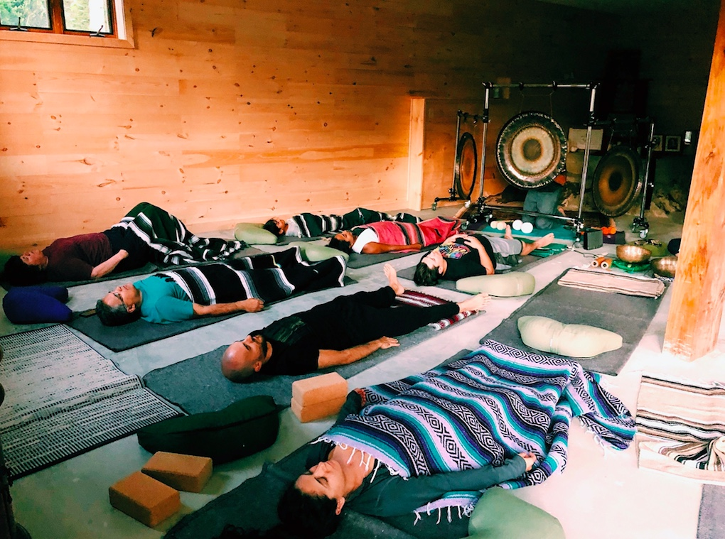 Reset & Relax: Sound Healing & Pranayama (breath-work) - All are welcome to attend, no previous experience necessary.Saturday Evening 6:30-8:00pm