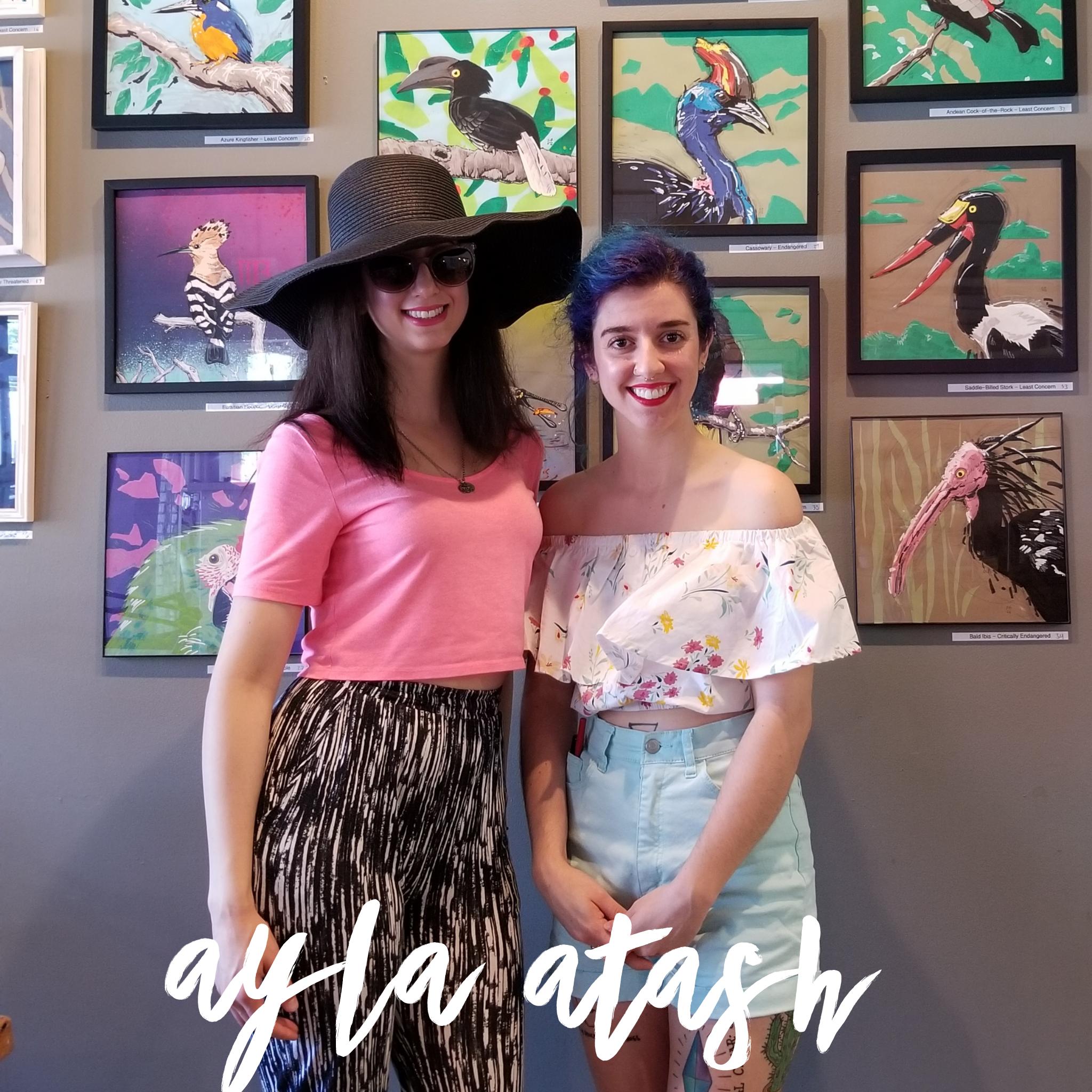 Ayla Atash, author of  Ayla on Fire
