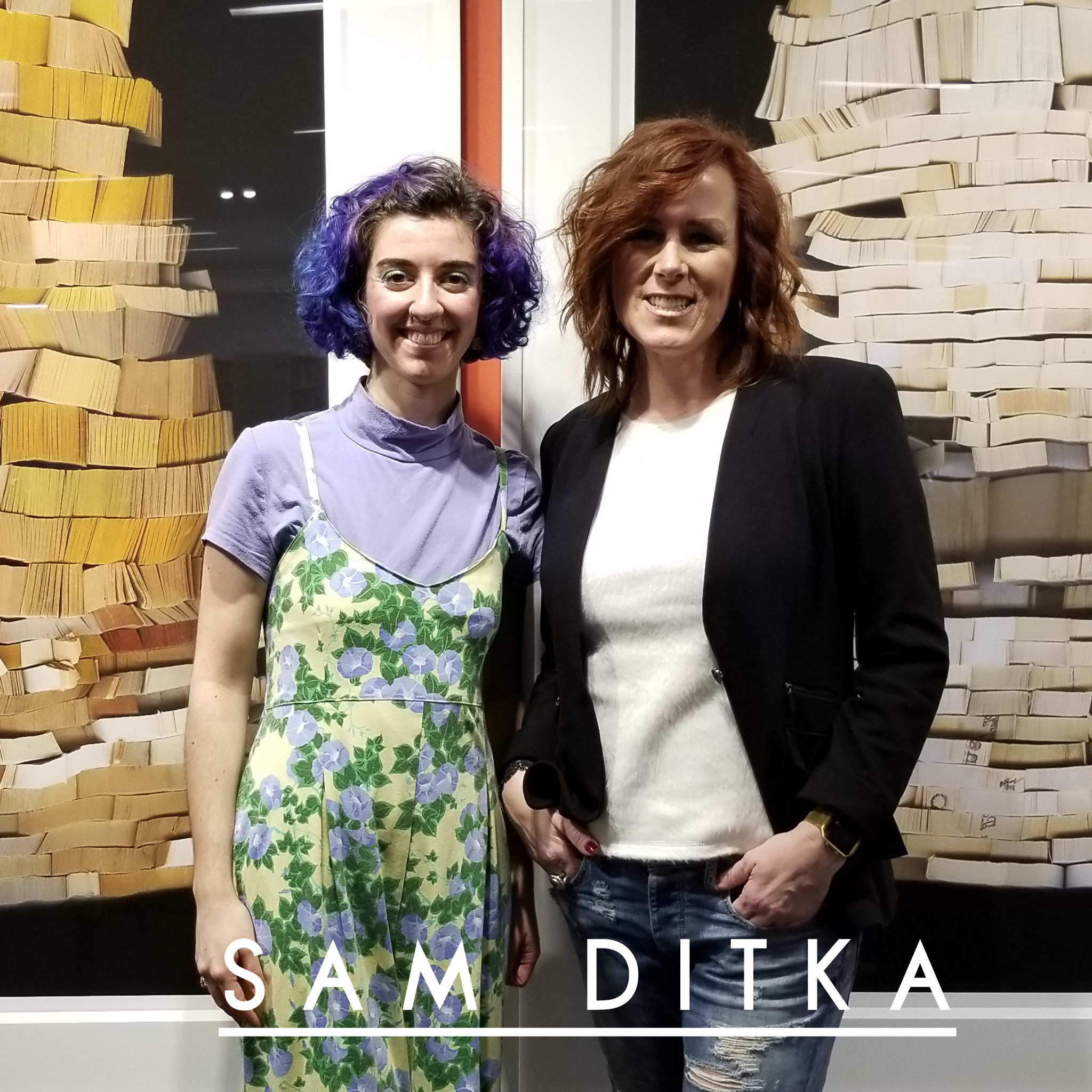Lorrin with Sam Ditka, Image and Confidence Coach and Creator of Moxie Mama