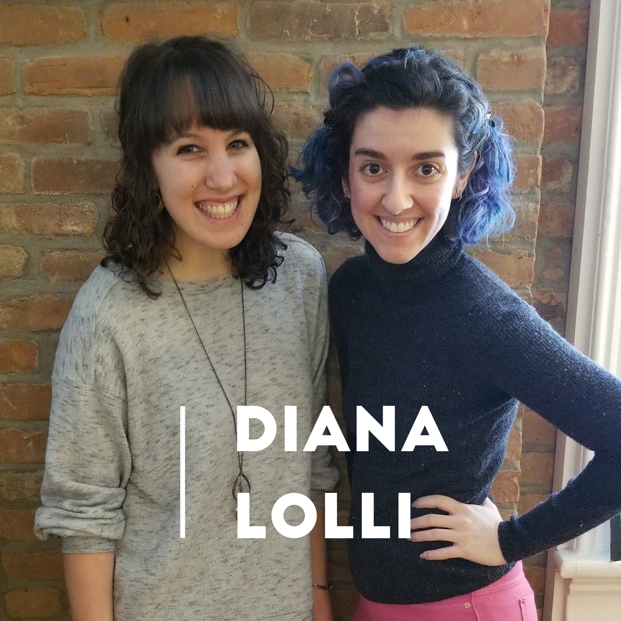 Lorrin with Diana Lolli, creator of tangibles