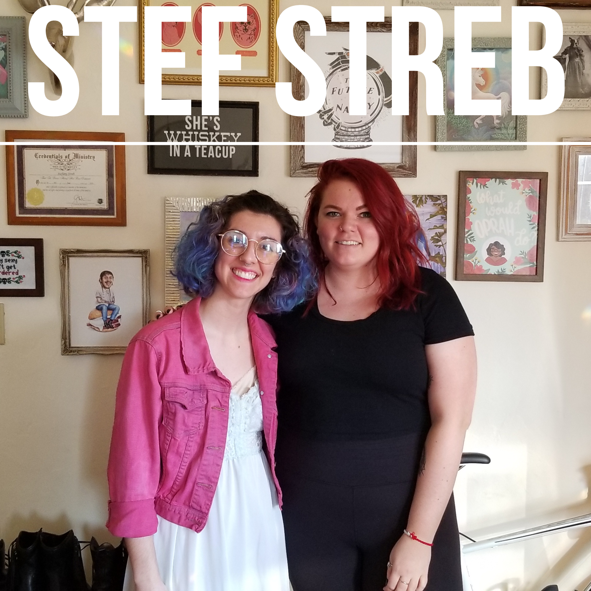 Lorrin with Stef Streb, a Columbus-based photographer