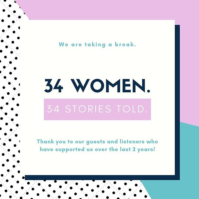 Over the last 2 years, we have told the inspiring stories of 34 different women. We are so incredible thankful for and proud of this accomplishment. The guests on this show are one of a kind humans doing extraordinary things. To be able to share their stories on our platform is nothing less of an honor. As you know, we wrapped up season 2 a couple weeks ago. So you may be wondering what's next for Women of Wonder? Season 3? The truth is Women of Wonder is taking a break. Our leader and team are taking a step back to focus on their careers and important life stuff. Thank you for taking the time to support this podcast that started as a small, crazy idea. With your help, it blossomed into an authentic platform. We hope to cross paths (or quite literally blast into your ears) again one day. 💕