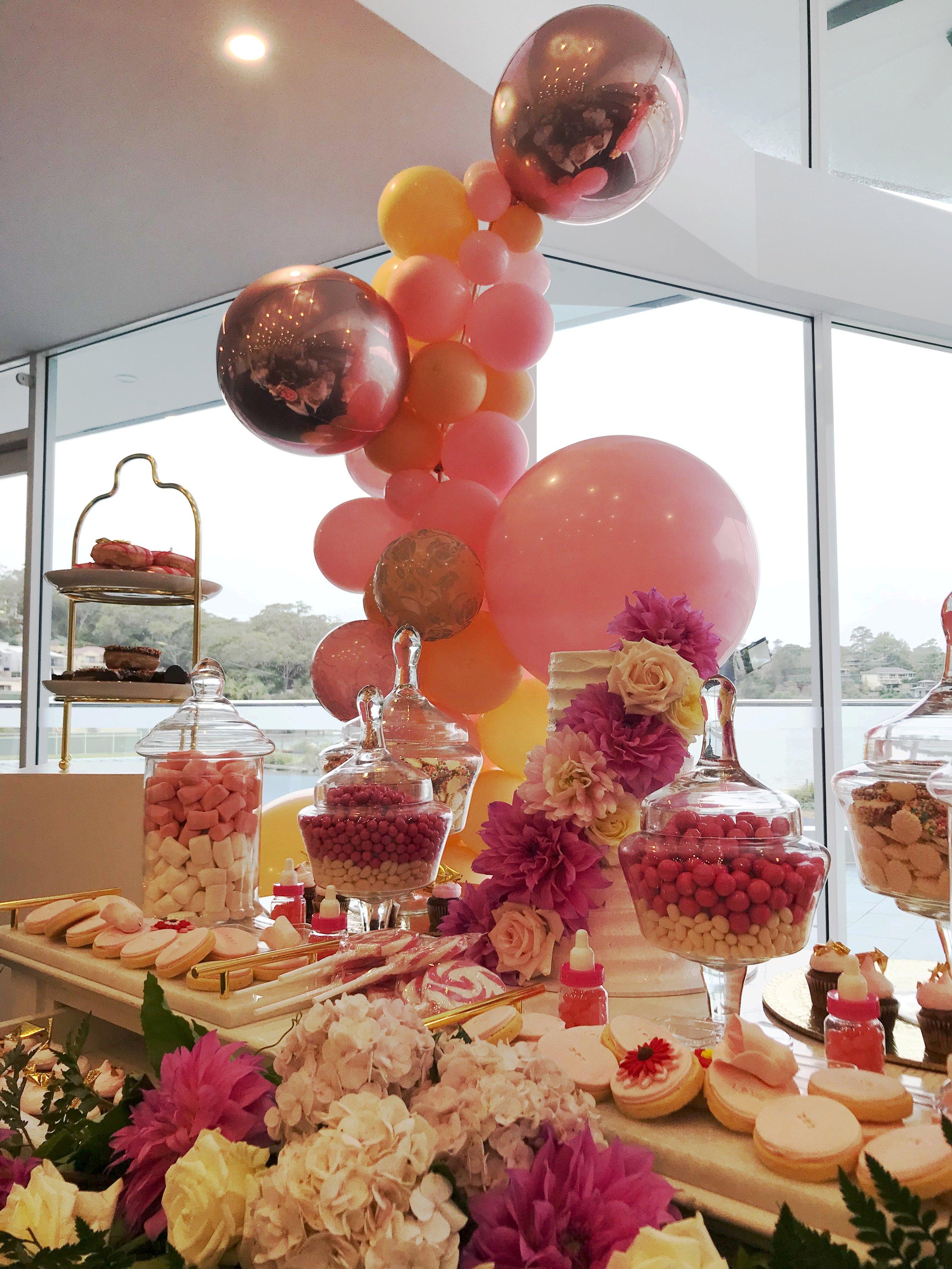 House of Balloons - Organic Arch - Weddings