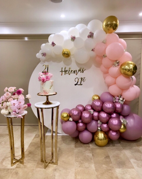 House of Balloons - Organic Garland - Private Functions