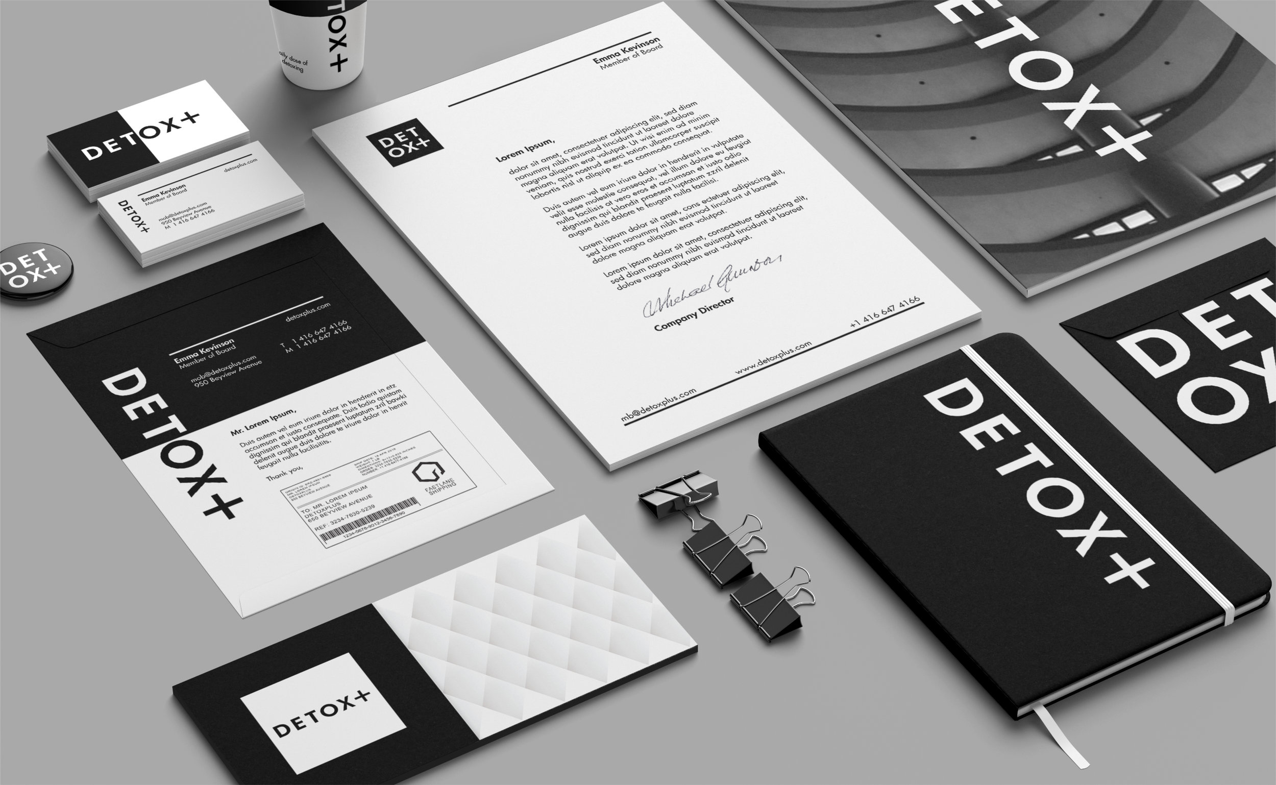 Detox Plus Packaging – Stationary design one