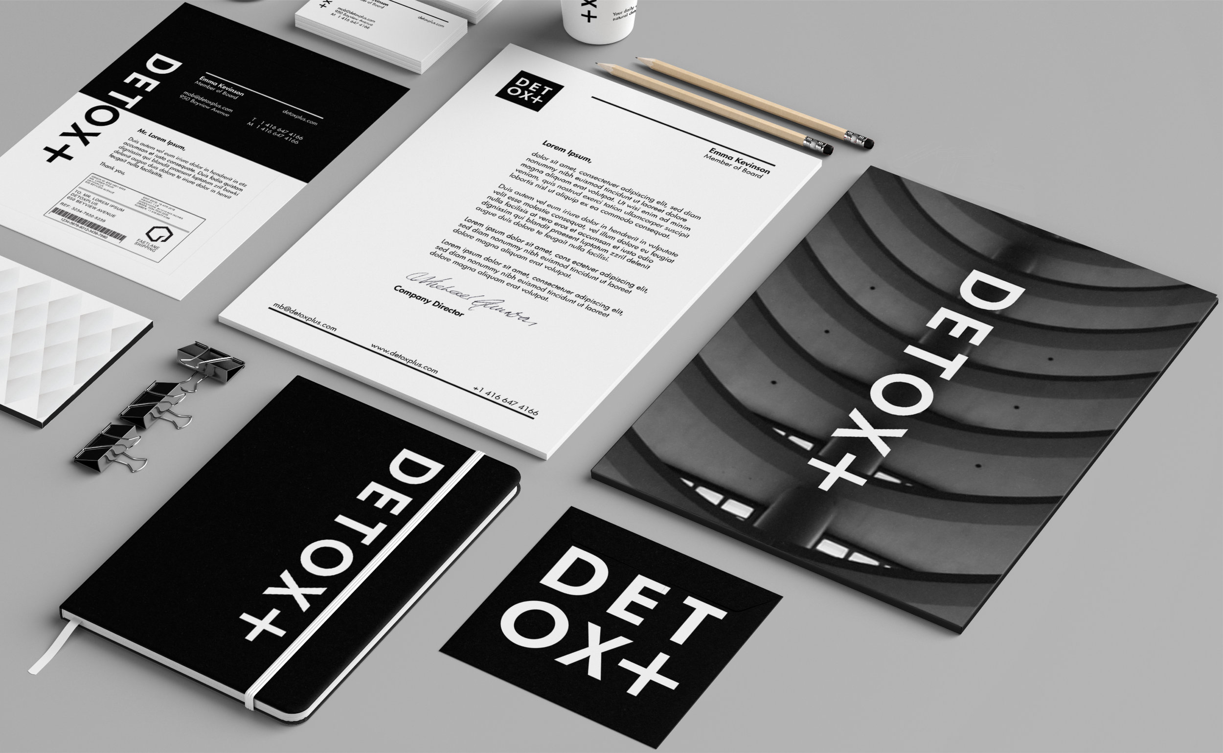 Detox Plus Packaging – Stationary design three