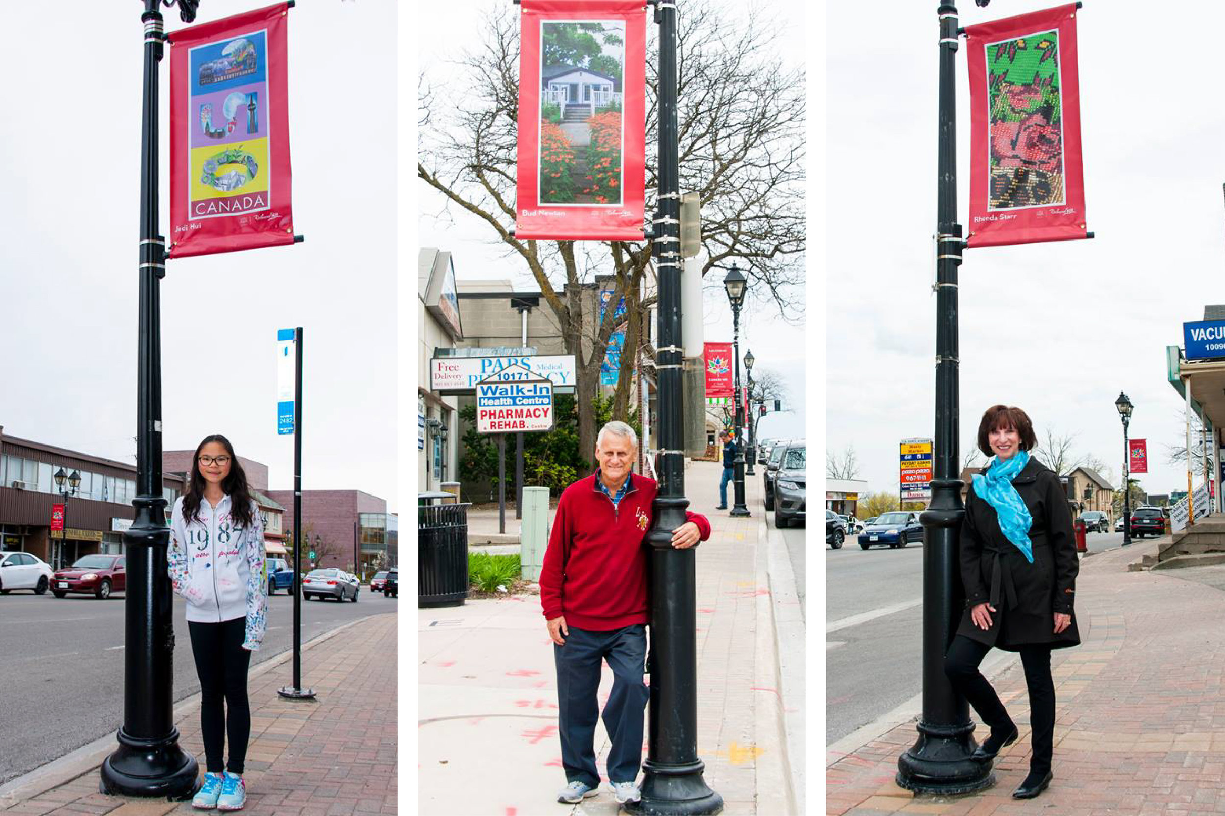 Canada 150 Official Branding – Town of Richmond Hill - Street Banner Winners one