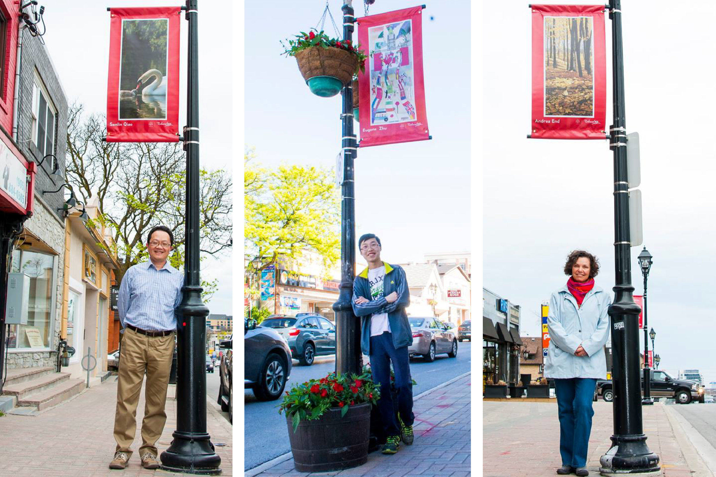 Canada 150 Official Branding – Town of Richmond Hill - Street Banner Winners two
