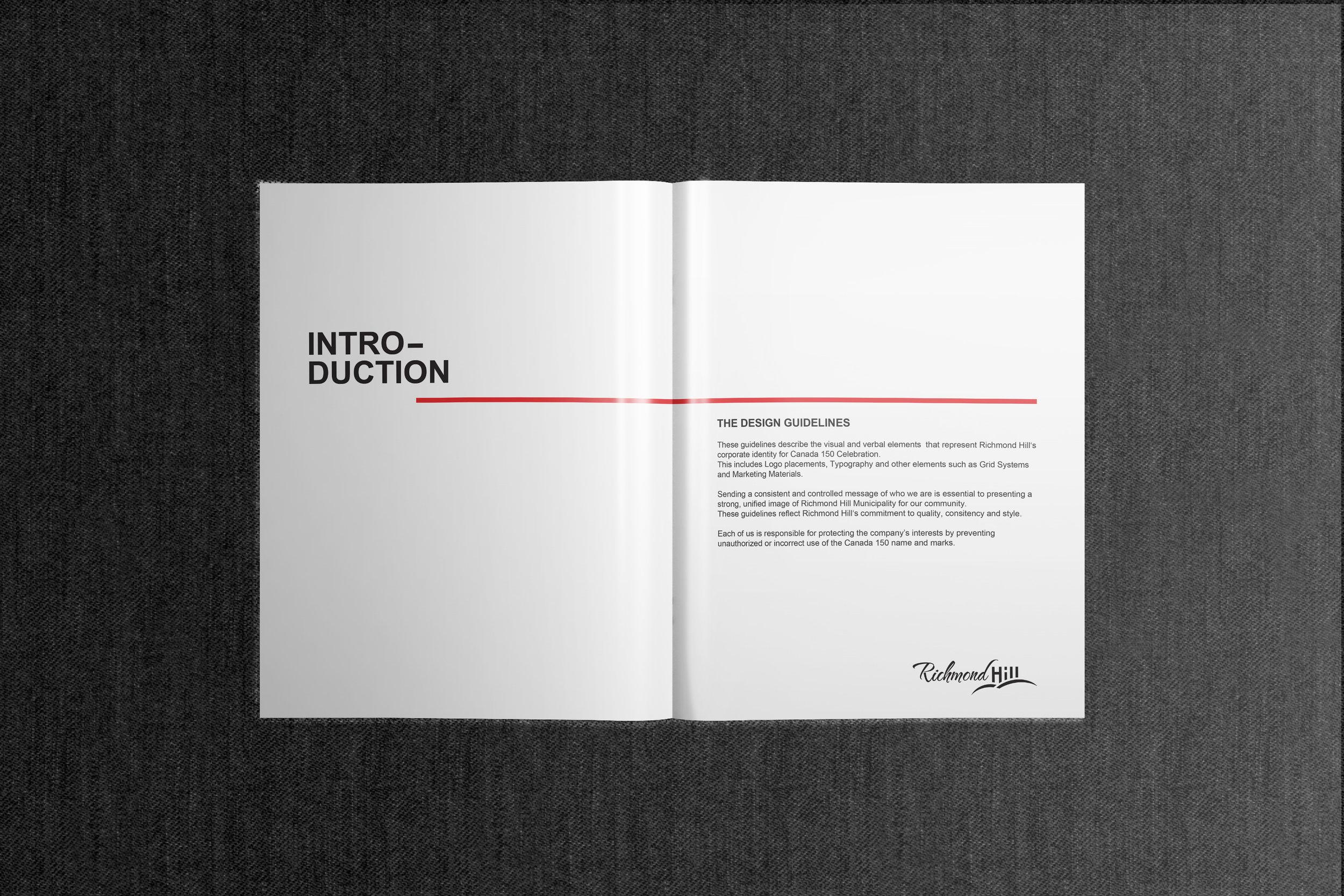 Canada 150 Official Branding inside Cover