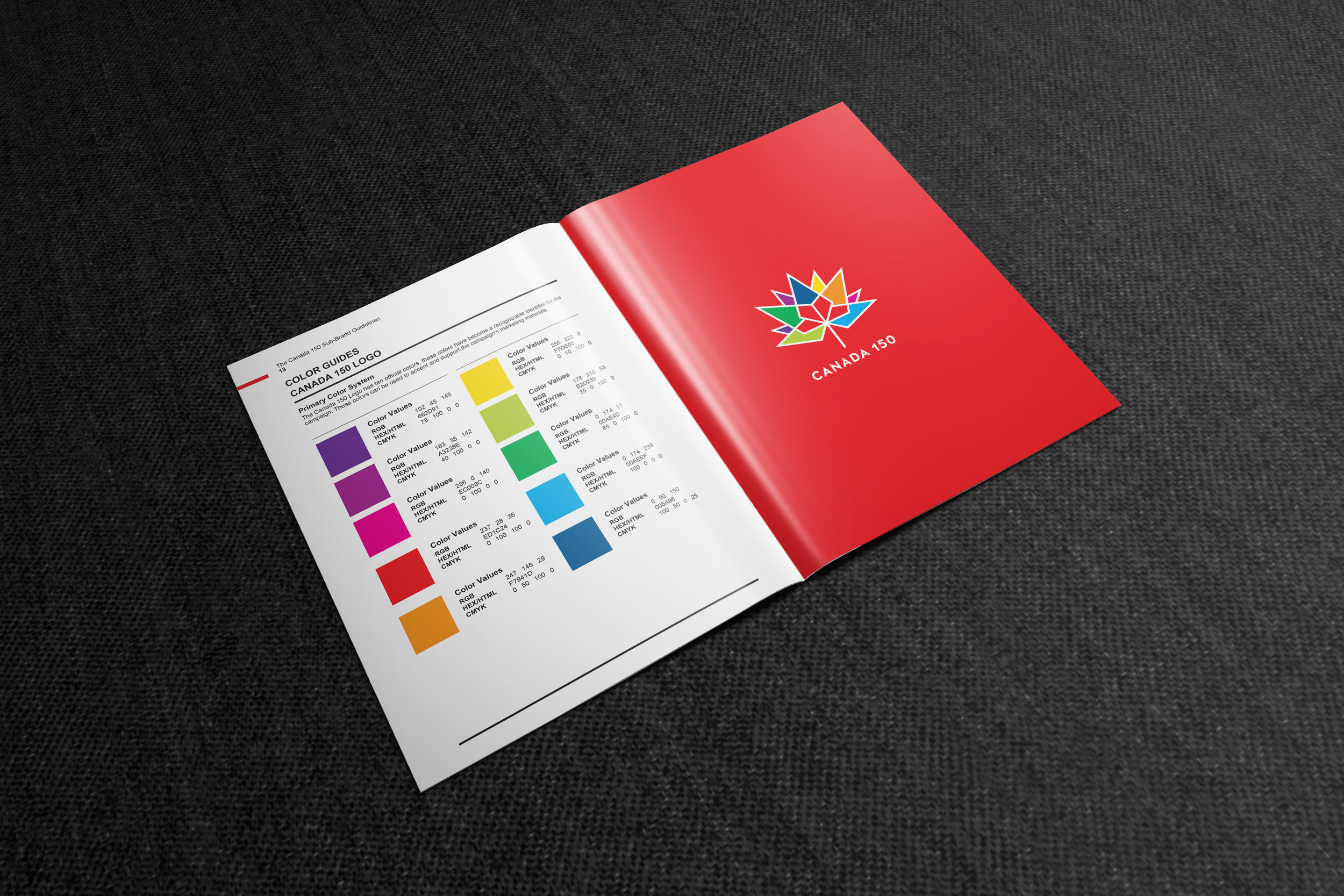 Canada 150 Official Branding Page five