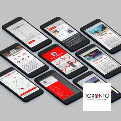 Toronto City Guide - UX & UI Design