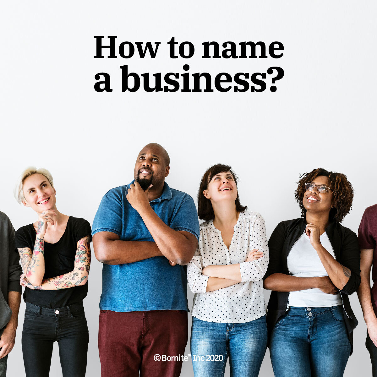 How to name a business, service or product