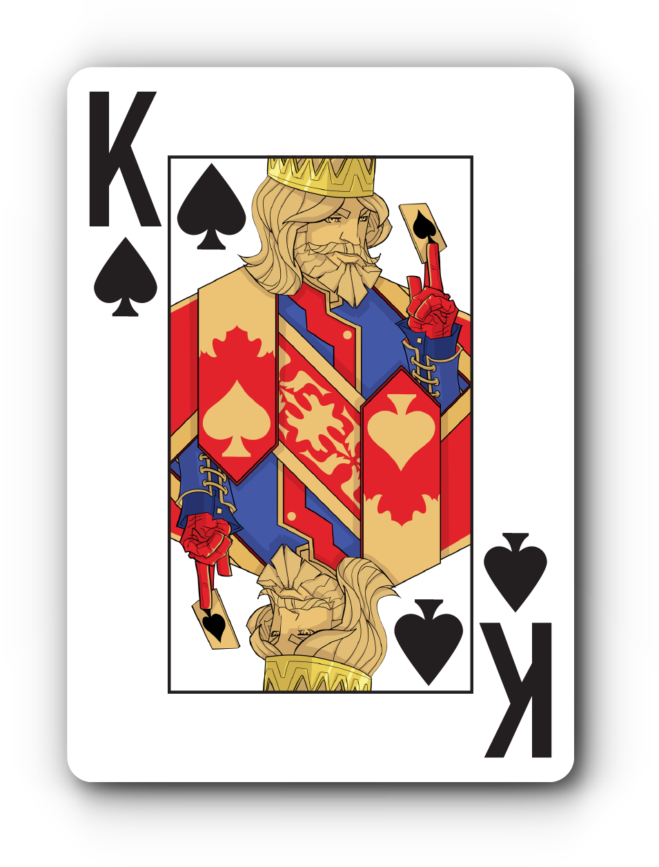 Faded Spade 100% Plastic Poker Playing Cards