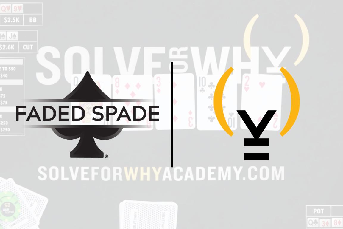 Faded Spade Solve for Why Tom Wheaton Matt Berkey Poker Playing Cards