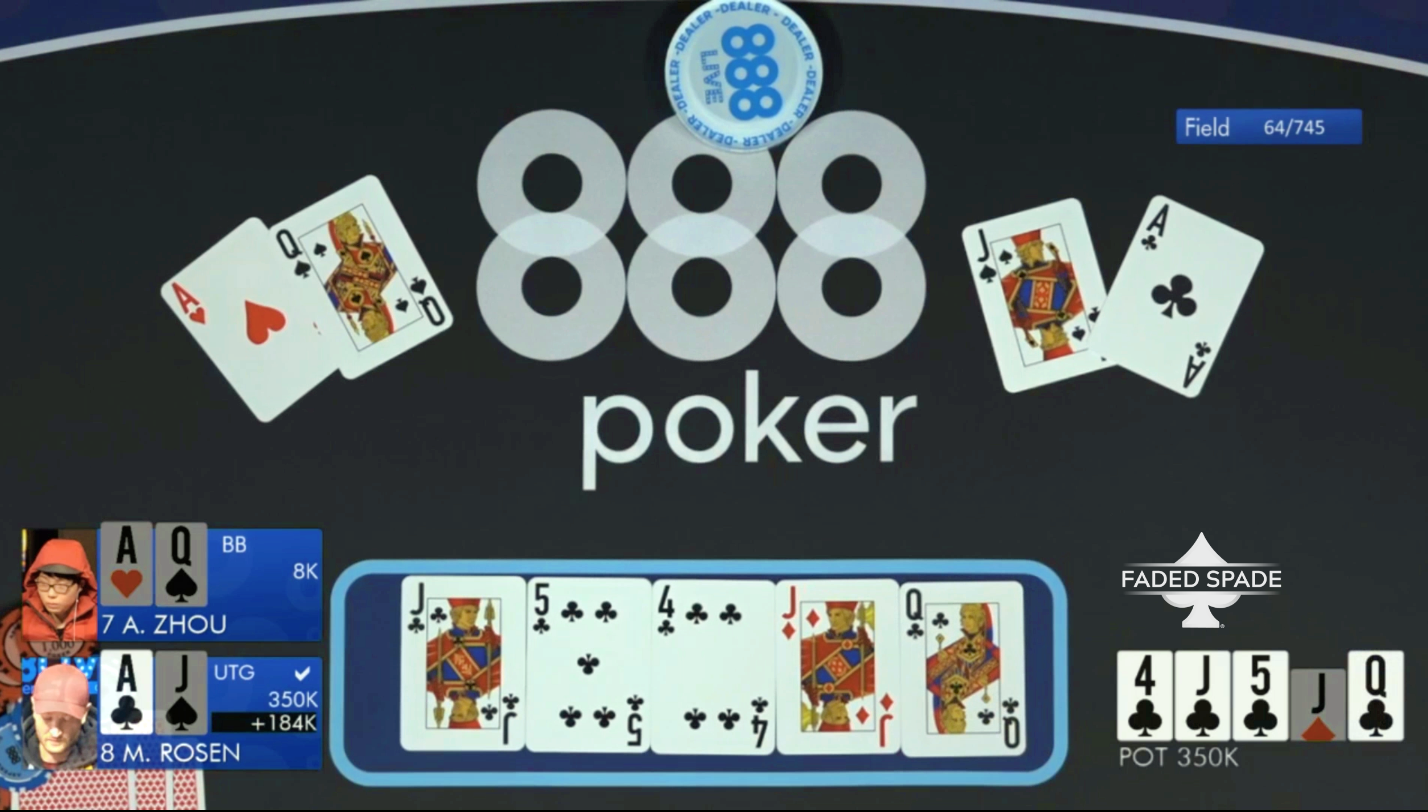 Faded Spade rfid poker playing cards 888Poker Live