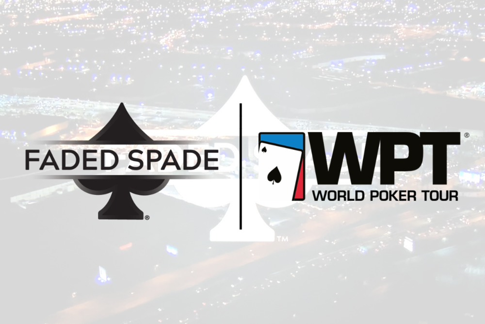 faded spade poker playing cards world poker tour wpt fox sports television hyperx esports arena