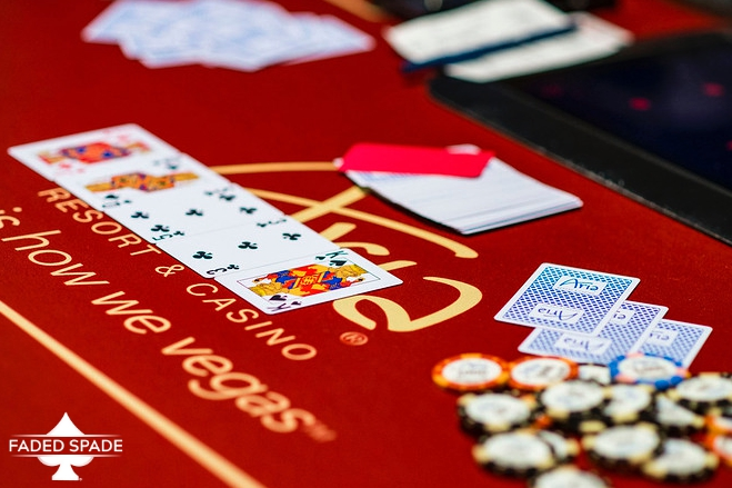 Faded Spade Aria Poker Room Playing Cards WPT  Tournament of Champions