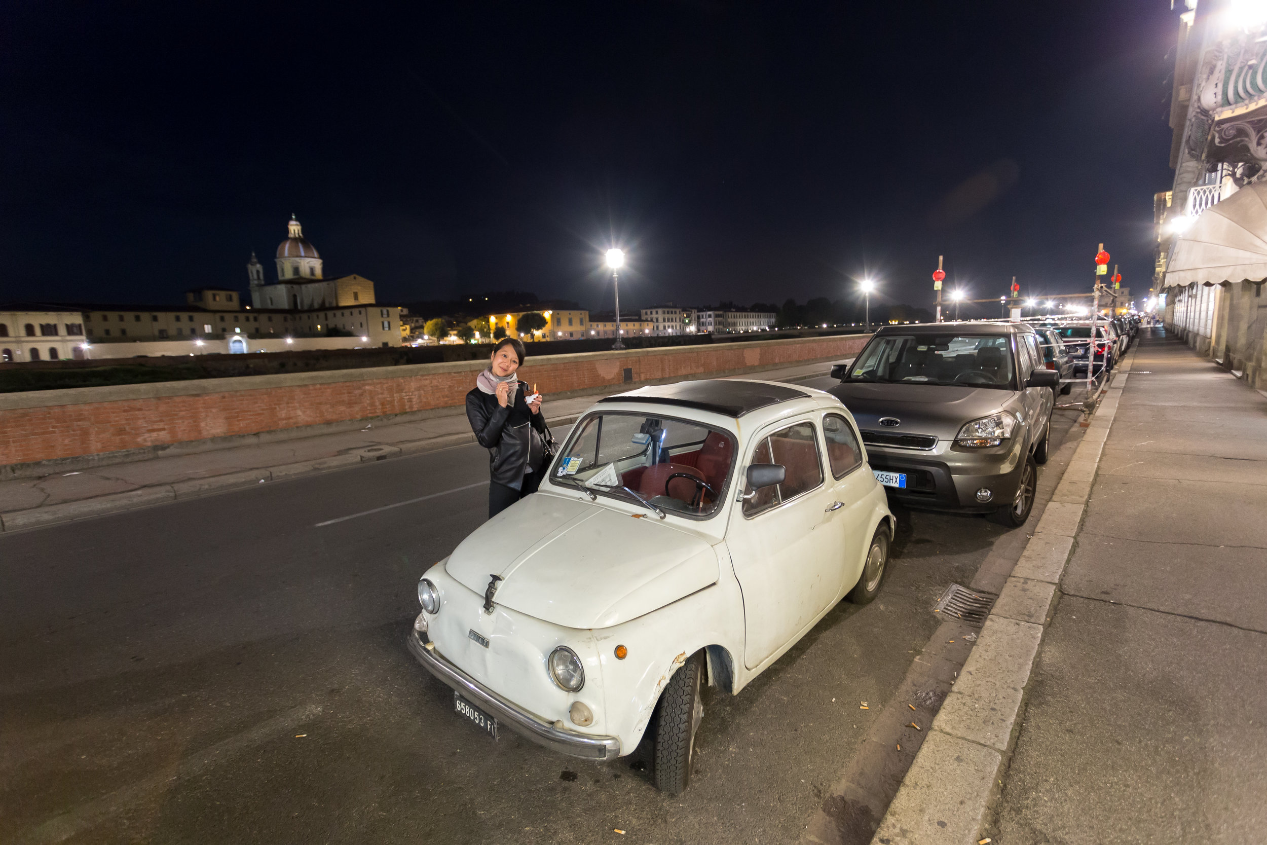 Gelato and mini cars. So Italian.
