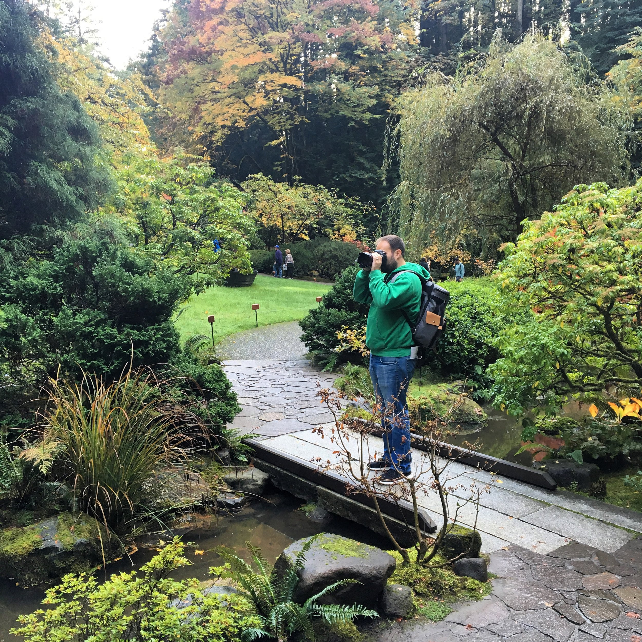 With clear skies in the forecast, we made our way to the  Japanese Garden . With the foliage, the garden was magnificent. For a moment, we felt like we were back in Kyoto. The garden was a short drive outside of the city center.