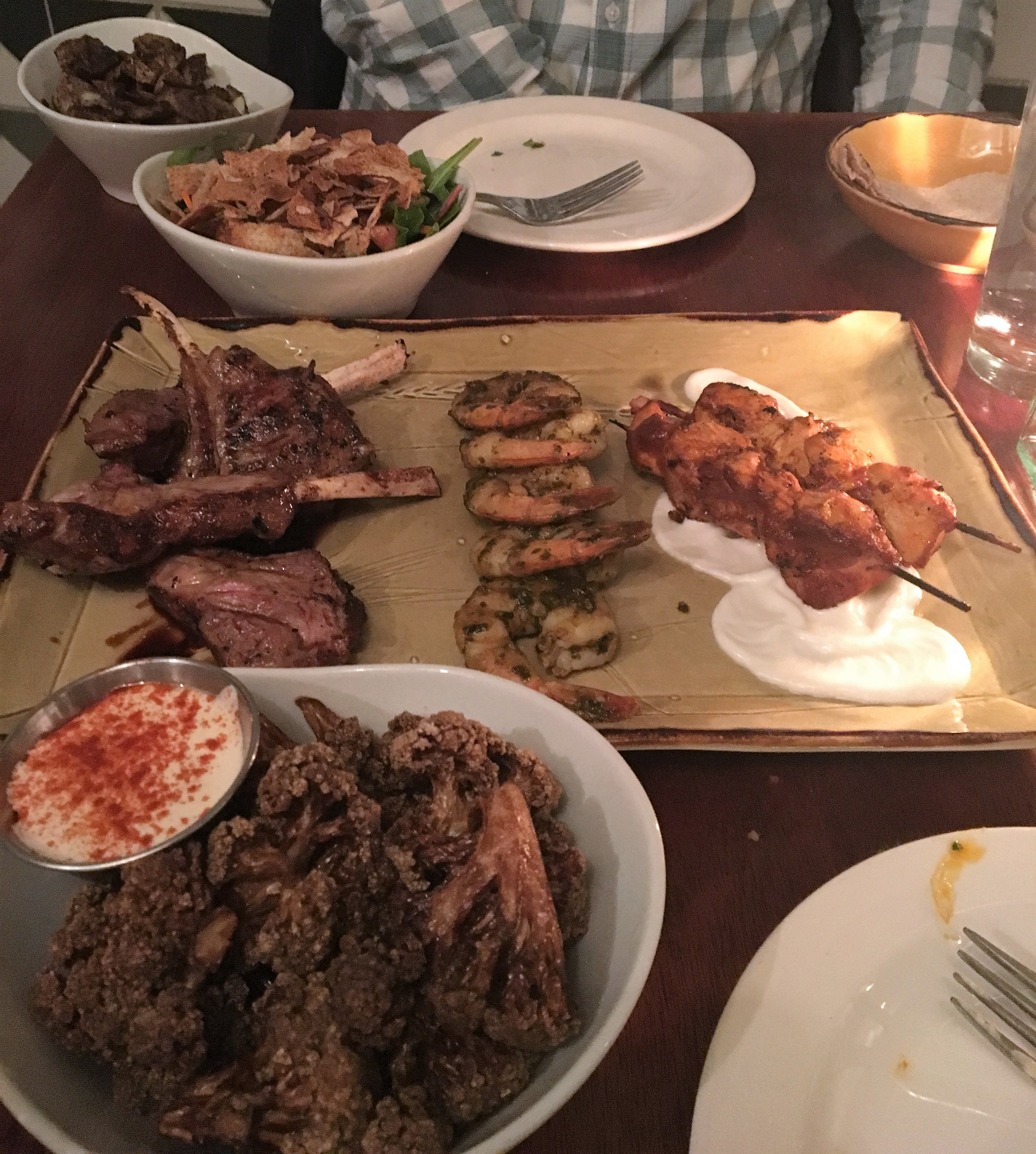 We ordered Le Grand Feast so that we could try a little (or a lot) of everything!
