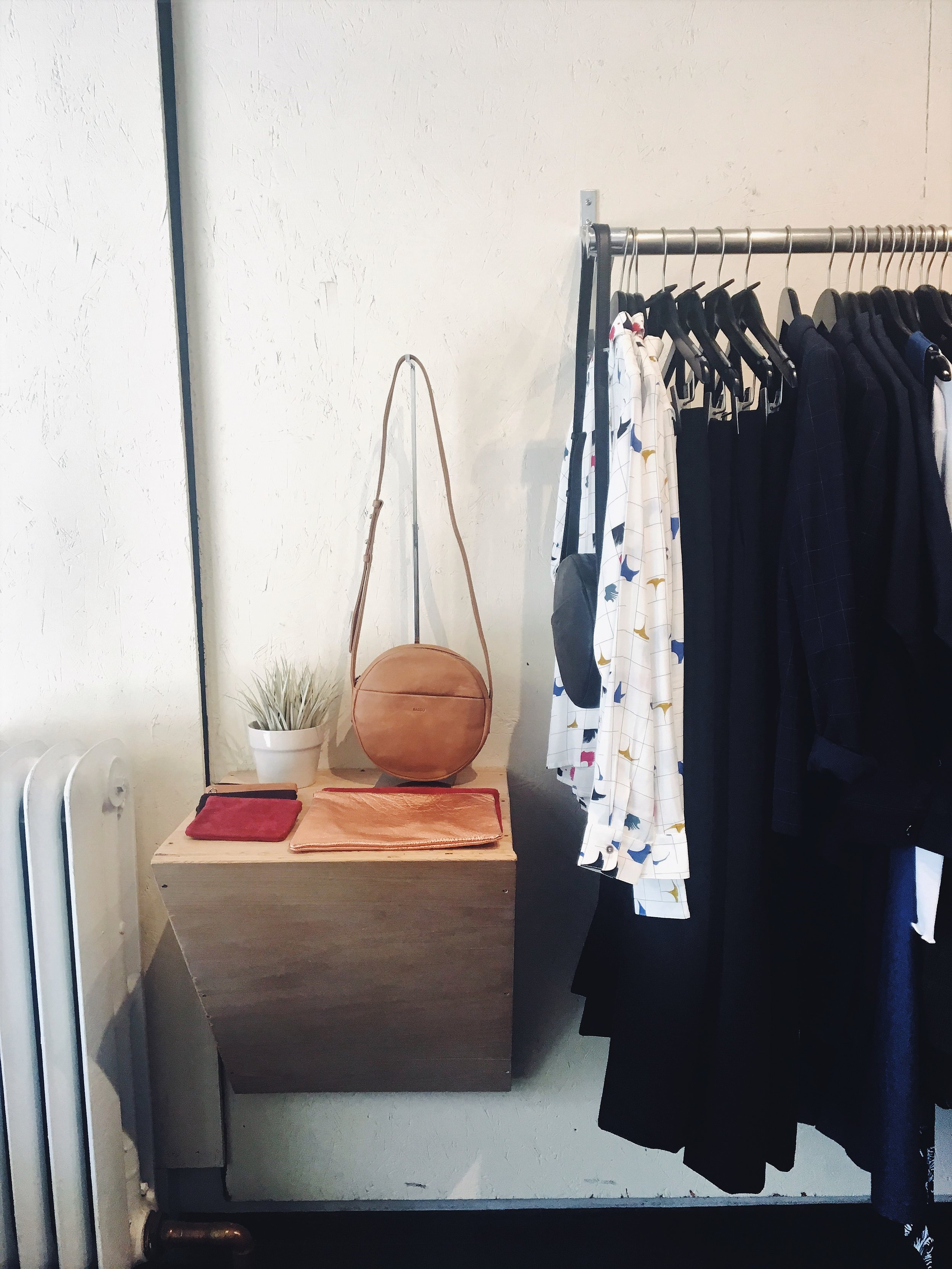Brooklyn is full of cute boutiques such as  Bird  and  Catbird  (albeit, quite pricey). However, one store I did like and found to be affordable (nabbed myself a little something) is  Article& (shown here).