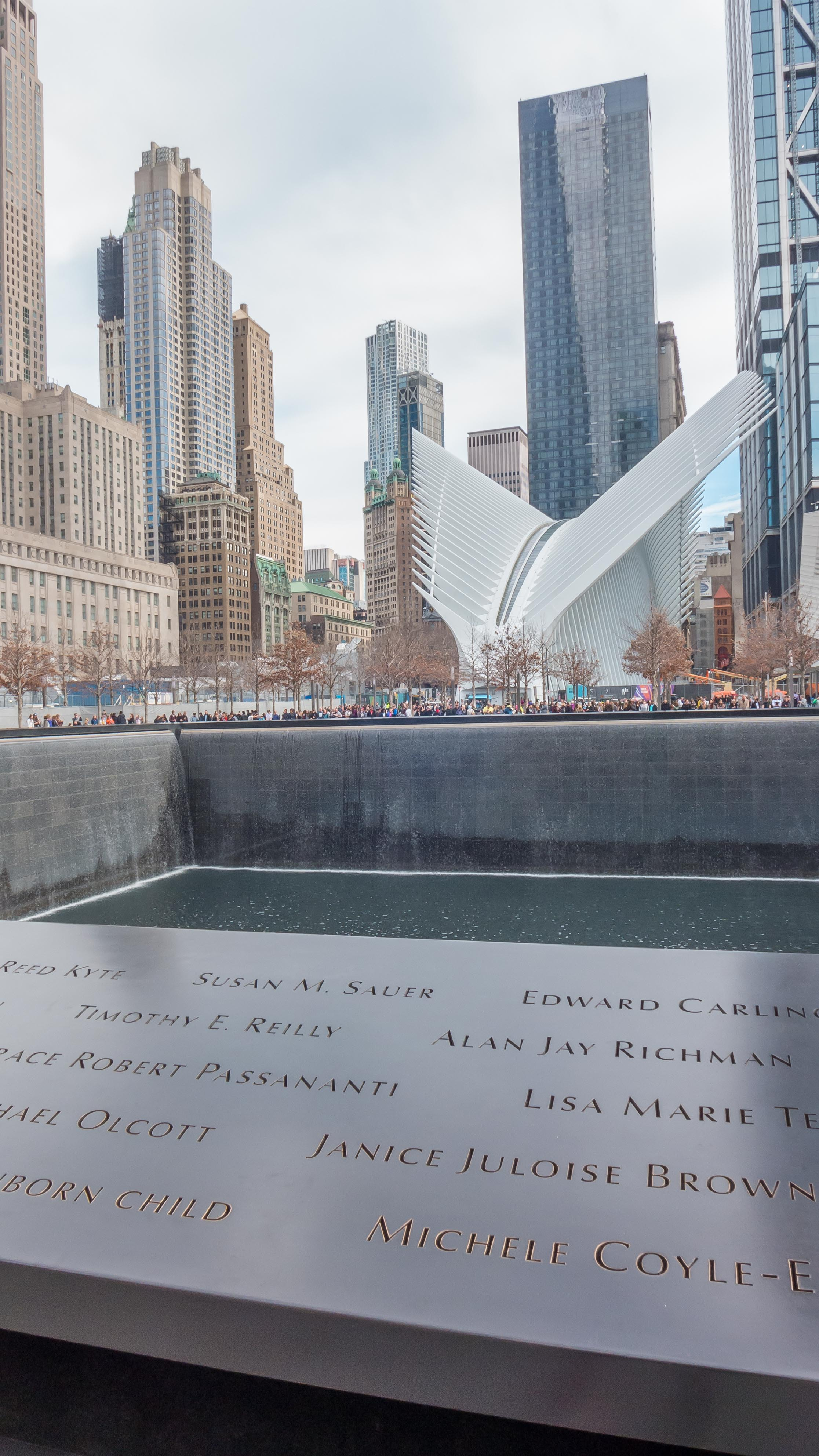 We also took some time to walk around the World Trade Center Memorial. It was my first time visiting on such a beautiful day. It was incredible.